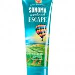 Bath & Body Works Sonoma Weekend Escape 24 Hour Moisture Ultra Shea Body Cream 226g. ครีมบำรุงผิวสุดเข้มข้น มีกลิ่นหอมติดทนนาน ด้วยกลิ่นหอมสดชื่นของลูกพีชและเปลือกไม้โอ๊ค กลิ่นนุ่มๆ อ่อนๆ โทนผลไม้คะ