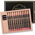 Mei Linda Miracle Color Fit Lip Liner Box Set ลิปไลเนอร์เนื้อแมทท์ 12 เฉดสีในกล่องเดียว เพื่อเรียวปากสวย คมชัด ติดทนนานด้วยสูตรกันน้ำ เนื้อเนียนละเอียด ปกปิดและแต่งแต้มริมฝีปากให้สดใสด้วยเม็ดสีสุดแน่น ให้การตกแต่งริมฝีปากสวยได้รูปเป็นเรื่องง่าย