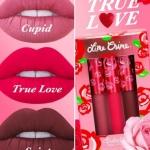 ราคาถูกที่สุด 1090 บ. ของขวัญสำหรับวาเลนไทน์ปีนี้ LIME CRIME Velvetines True Love Set (Limited Edition) เซ็ทลิปลิควิคเนื้อแมท 3 สีสวยต่างสไตล์ บ่งบอกความเป็นหญิงสาวในแต่ละอารมณ์ได้อย่างชัดเจน ทั้งสีชมพูโทนหวาน สีชมพูอมแดงเปรี้ยวจี้ด และสีแดงเข้มอมม่วงสุดเ