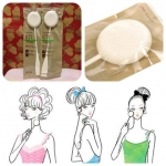 Shiseido Patting Sponge Face & Body : 611 (สินค้านำเข้าจากญี่ปุ่น) ฟองน้ำเนื้อละเอียดสำหรับลงรองพื้นให้เนียนเรียบ พร้อมด้ามจับ ไม่เลอะมือ ใช้ตบเบาๆ ให้รองพื้น / เบส / BB /CC เนียนเรียบไปกับผิวหน้าอย่างเป็นธรรมชาติ