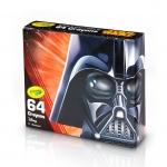 Crayola Star Wars, Darth Vader สีเทียน 64 แท่ง ปลอดสารพิษ เหมาะกับน้อง 3 ขวบขึ้นไป
