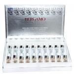 Bergamo Snow White & Vita-white Whitening Perfection Ampoule Set (1กล่อง 10คู้่) เซรั่มบำรุงผิวหน้าสูตรบำรุงผิวขาวกระจ่างใส ซึ่งช่วยยับยั้งต้นเหตุของการเกิดฝ้า ยับยั้งการสร้างเม็ดสีผิว ช่วยทำให้ผิวกระจ่างใสสม่ำเสมอ อย่างเป็นธรรมชาติ