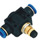 SPA series pipe speed control valve