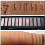 W7 IN THE NUDE Natural Nudes • Eye Colour Palette โทนสีน้ำตาล-ชมพู ฝาแฝด Naked 3 พาเลทอายเชโดว์ 12 สีสวย แบรนด์ดังจากอังกฤษ สีชัดติดทน ในแพคเกจกล่องเหล็กสวยหรู พร้อมกระจกและแปรง