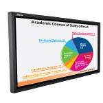 "Razr P-65 LED panel touch screen 65 "" Interactive Projection Board"