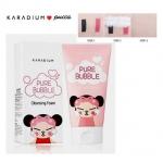 Karadium Pucca Pure Bubble Cleansing Foam 150g. โฟมล้างหน้า มาในแบบ pucca น่ารักมากๆค่ะ ช่วยขจัดสิ่งสกปรกจากมลภาวะได้เป็นอยา่งดี ทำให้หน้านุ่ม ชุ่มชื้้นไม่แห้งตึง