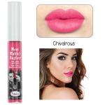 The Balm Meet Matte Hughes Long Lasting Liquid Lipstick # Chivalrous (Bright Pink) สีชมพูหวานกำลังดี ไม่ซีดจนเกินไป สุดยอดลิควิดลิปสติก เนื้อแมทท์ สีสวย เนื้อนุ่ม ติดทนเพื่อความมั่นใจได้ยาวนานตลอดทั้งวัน กันน้ำสุดๆ ลบไม่ค่อยออก