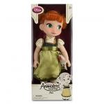 Animators' Collection Anna Doll ตุ๊กตาเจ้าหญิงดิสนีย์ ตุ๊กตาแอนิเมเตอร์ เจ้าหญิงอันนา จากการ์ตูนเรื่องโฟรสเซ่น Frozen (รุ่น 3 มีตุ๊กตาที่ข้อมือ) ขนาดความสูง 16 นิ้ว สินค้านำเข้า Disney USA แท้ 100% ค่ะ