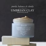 Fresh Umbrian Clay Purifying Mask 100ml. มาส์กชำระล้างเพื่อผิวสะอาดบริสุทธิ์ เพื่อดูดซับสิ่งสกปรกและความมัน หรือใช้เป็นคลีนเซอร์เพื่อการชำระล้างอย่างล้ำลึก สามารถลดขนาดรูขุมขนและลดความมันส่วนเกินบนผิวหน้า โดยไม่ทำให้ผิวหน้าแห้งตึง
