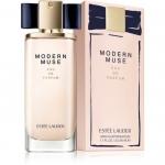 ESTEE LAUDER Modern Muse Eau De Parfum 50ml. น้ำหอมกลิ่นใหม่ล่าสุดในแนวกลิ่นฟลอรัลวู้ดดี้ สำหรับหญิงสาวยุคใหม่ที่มีความมั่นใจ ปราดเปรียว สนุกสนานในชีวิต แต่ในขณะเดียวกันก็ยังเปี่ยมไปด้วยเสน่ห์หวานอันเย้ายวน สัมผัสแรกคือความสดชื่นกระปรี้กระเปร่า