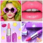 LIME CRIME Opaque Lipstick#Geradium สีชมพูนีออน Coral Pink ลิปสติกกลิ่นหอมอ่อน ๆ ลิปสติกเก๋ๆสุดฮิต สีจัด ชัดเจน บอกลาความจืดจางด้วยโทนสีที่แปลกแหวกแนวไม่ซ้ำใคร เนื้อสัมผัสเบาสบาย
