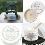 Fresh Black Tea Instant Perfecting Mask ขนาดทดลอง 20ml. มาส์กชาดำ ที่ขึ้นชื่อว่ามันเป็นยาอายุวัฒนะ ให้ผิวแน่นกระชับ เนียนนุ่มอ่อนเยาว์ทันทีหลังจากใช้ ช่วยกระตุ้นการทำงานของเซลล์ผิว คืนความเนียนนุ่มชุ่มชื่น ปกป้องจากริ้วรอยแห่งวัย พร้อมปรับผิวหน้าให้เรียบเ