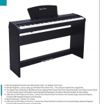 เปียโนไฟฟ้า ยี่ห้อ Pastel รุ่น P-9 เสียงเสมือนเล่นแกรนเปียโนจริงๆ