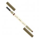 *MILLE Celeb 3D Eyebrow Waterproof #1 Light Brown น้ำตาลอ่อน ดินสอเขียนคิ้ว มาพร้อมแปรงแปรง คิ้วคุณภาพสูงนุ่มนวลที่ช่วยให้การเก็บรายละเอียดทำได้ง่ายขึ้น ให้ความเรียบลื่น