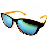 แว่นกันแดดแนวเรโทร สีส้ม เลนส์ปรอท 39 บาท