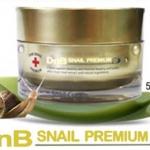 DnB Snail Premium Snail Cream 50 ml. หลุมสิว หน้าปรุ ช่วยได้ด้วยครีมบำรุงผิวหน้าผสมสารสกัดจากเมือกหอยทาก เป็นที่นิยมมากในเกาหลี ช่วยลดเลือนริ้วรอย จุดด่างดำต่างๆ ให้ใบหน้านุ่ม เนียนเรียบ กระชับรูขุมขน และช่วยในเรื่องรอยสิว คงความชุ่มชื้นให้ผิว