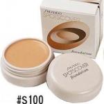 Shiseido Spots Cover Foundation 20g. #S100 ผิวขาว คอนซีลเลอร์เนื้อครีม อันดับ1 จาก Cosme.net Japan มา 2ปีซ้อนสีนี้ออกเบจอ่อนๆ ใช้กับผิวขาว-ขาวเหลือง เนื้อเนียนมากๆ ปกปิดได้เนียนเรียบ แต่ไม่ทิ้งคราบหนา ช่วยกลบรอยสิว รอยแผลเป็น