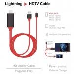 สาย HDMI iphone อุปกรณ์เสริมต่อ iphone เข้าทีวี