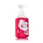 Bath & Body Works Japanese Cherry Blossom Gentle Foaming Hand Soap 259 ml. โฟมล้างมือเนื้อโฟมนุ่ม อ่อนโยนต่อผิวบำรุงผิวให้ผิวนุ่มชุ่มชื่นไม่แห้งตึงหลังการใช้ กลิ่นดอกซากุระญี่ปุ่นหอมเตะจมูกตั้งแต่ครั้งแรกที่ได้กลิ่น ผสมกับกลิ่นวนิลานุ่มๆ เป็นกลิ่นที่ค่อนข