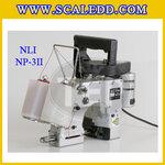 จักรเย็บกระสอบมือถือ แบบด้ายคู่ ยี่ห้อNLI รุ่นNP-3II Made in JAPAN จักรเย็บแบบมือถือ จักรอุตสาหกรรมด้ายคู่ sewing machine จักรเย็บกระสอบ จักรเย็บถุง