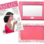 The Balm INSTAIN Long-Wearing Staining Powder Blush #Lace สีชมพูสว่าง บลัชออนคอลเลคชั่นใหม่จาก The Balm ที่จะช่วยเนรมิตพวงแก้มของคุณให้สวย โดดเด่นกว่าใคร พร้อมสีที่ติดทนนานตั้งแต่เช้าจรดเย็น สมกับสโลแกน ปัดเช้า เย็นฉ่ำ