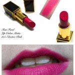 Tom Ford Lip Color Matte #15 Electric Pink ลิปสติกเนื้อแมทเลอเลิศจากแบรนไฮโซสุดฮอต หรูหรา และคุณภาพดีสุดๆ ให้สีชัดติดทนนาน ทาออกมาแล้วให้สีเรียบเนียนสม่ำเสมอและไม่เป็นคราบระหว่างวัน