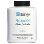 Ben Nye Neutral Set Colorless Face Powder ขนาด 3oz แป้งฝุ่นเนื้อสีขาว โปร่งแสง เนื้อบางเบาค่ะ เหมาะสำหรับใช้เซ็ทรองพื้น สามารถใช้ได้ทุกสีผิว เป็นแป้งคุมมัน เนื้อละเอียดค่ะ
