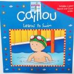 """หนังสือนิทาน """"คายูเรียนว่ายน้ำ"""" แถม Poster หาของท้ายเล่ม / Caillou: Learns to Swim"""