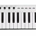 Midiplus X2 Mini 25 Mini Velocity Sensitive Keys USB Midi Keyboard