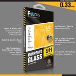 Focus ฟิล์มกระจกนิรภัย iphone 7 plus ( แถมหลังใสธรรมดา )