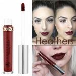 Anastasia Beverly Hills Liquid Lipstick สี Heathers สีแดงเข้มอมน้ำตาล ลิปเนื้อแมทสีสวย เนื้อครีมแมทสุดยอด Full Coverage พิกเม้นต์ดี กลบสีปากได้ดี เนื้อครีมทาง่าย ทาเพียงครั้งเดียวก็ติดทนไปตลอดทั้งวัน