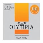 สายกีต้าร์โปร่งชุด คุณภาพสูง 010-047 ยี่ห้อ Olympia