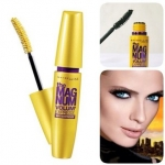 Maybelline the Magnum Volum Express Waterproof Mascara - Black มาสคาร่าที่จะช่วยให้ขนตาของคุณหนาสุดได้ถึง 9 เท่าในพริบตาเดียว เนรมิตดวงตาให้สวยโดดเด่นเหนือใครแบบทันใจในทุกสถานการณ์ ด้วยแปรงปัดลิขสิทธิ์แม็กนั่ม สูตรกันน้ำไม่เลอะเปื้อนระหว่างวัน