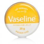 Vaseline Lip Therapy Petroleum Jelly Pocket Size With SPF 15 Sun Protection สูตรกันแดด ปกป้องริมฝีปากให้เนียนนุ่ม ชุ่มชื่น ไม่แห้งคล้ำ
