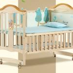 TB10112 เตียงนอนไม้สำหรับเด็ก WB1 สามารถปรับเป็นโต๊ะเฟอร์นิเจอร์ได้ เบาะฺ