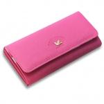 กระเป๋าสตางค์ผู้หญิง ทรงยาว รุ่น2STAGE - Hot Pink