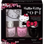 OPI Hello Kitty 2016 Nail Polish Collection Trio Set - Hello Kitty Sparkle & Shine (3*15ml) Swarovski Crystal + Opi 3 ขวด คิตตี้คอลเลคชั่นแพค 3 สุดคุ้ม มาพร้อมกับเพชรสวารอฟสกี้ในกล่อง ตกแต่งเล็บให้ดูสุดหรู