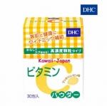 DHC Vitamin C Powder Lemon (วิตามินซีแบบผง) วิตามินซีสกัดจากมะนาว เลมอนล้วนๆ สูตรเพิ่มวิตามิน B2 วิตามินซีชนิดแบบผง มีความเข้มข้นสูง โมเลกุลเล็ก เมื่อรับประทานเข้าไป ร่างกายนำไปใช้ได้อย่างรวดเร็ว เห็นผลไว ช่วยปรับสภาพผิวให้กระจ่างใสขึ้น อีกทั้งยังช่วยในเร