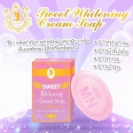 Neon Sweet Whitening Cream Soap By Mn 100 g. สบู่นางฟ้า สบู่นีออนทรีทเม้น สปาผิวขาว ผิวขาวเร่งด่วนไม่แห้งตึง ลดสิว รอยดำ ทั่วเรือนร่าง ลดอาการอับเสบของผิว