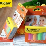 EAR PLUG ohropax color 4 pairs