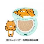 The Face Shop Kakao Friends Oil Control Water Cushion SPF50+ PA+++ (ตลับจริง+รีฟิล 1) คุชชั่นลายสุดน่ารัก เนื้อแมทท์ควบคุมความมันส่วนเกิน สำหรับสาวผิวมัน กันน้ำกันเหงื่อ และกันความมัน ไม่เหนอะหนะ