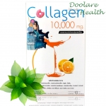 Donut collagen 10,000 mg 10 sachet (15g) Orange โดนัท คอลลาเจน 10,000 มิลลิกรัม รสส้ม 10 ซอง ส่งฟรี ลทบ.