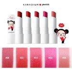 Karadium Pucca Sweet Kiss Lipstick 4g. ลิปแมทสีสวย แพ็คเกจน่ารัก เนื้อนุ่มนิ่ม เกรดพรีเมี่ยม สีสันสดใส เม็ดสีแน่น ติดทนนาน เหมาะกับสาวๆที่เน้นการเติมแต่งริมสีปากให้โดดเด่น ทาแล้วดูแพงมากค่ะ