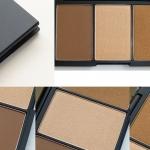 Sleek face Form Contouring and Blush Palette# 374 Medium พาเลทท์บรอนเซอร์ ไฮไลท์ บลัชออน สีออก bronze ประกายน้ำตาลทอง หน่อยๆ สีไม่ได้แรงเหมือนทีตาเห็นจากรูปให้ปัดเบาๆ ค่อยเพิ่มน้ำหนักหากต้องการให้ดูหน้าเรียว มีมิติ