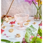 Ice Cream Glass Cup - Light Pink