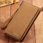 กระเป๋าสตางค์ผู้ชายที่ใส่มือถือ iPhone7 plus , Samsung galaxy note รุ่นต่างๆ ได้
