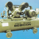 HITACHI OIL FREE BEBICON Model : 5.5OP-9.5G5A