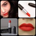 ลิปสติก MAC Matte Lipstick # Lady Danger สีแดงสดเข้มหรู ลิปสติกแบบเนื้อแมตต์ เนื้อแน่นเนียนนุ่ม ละเอียดทาง่ายไม่เป็นคราบ สีสวย ที่มอบสีสันติดทนนาน สร้างสีสันให้เรียวปากดูมีชีวิตชีวาน่ามองและน่าสัมผัส