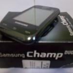 SAMSUNG CHAMP #GT-E2652W DUAL SIM