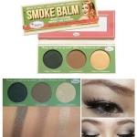 The Balm Smoke Balm Eyeshadow Palette No.2 โทนน้ำตาลนู้ด อายเชโดว์ 3 สี สำหรับแต่งดวงตาในลุ้คสโมคกี้อายส์ ให้ดวงตาดูโดดเด่น เนื้อสีชัดติดทน มีประกายชิมเมอร์สวยงาม